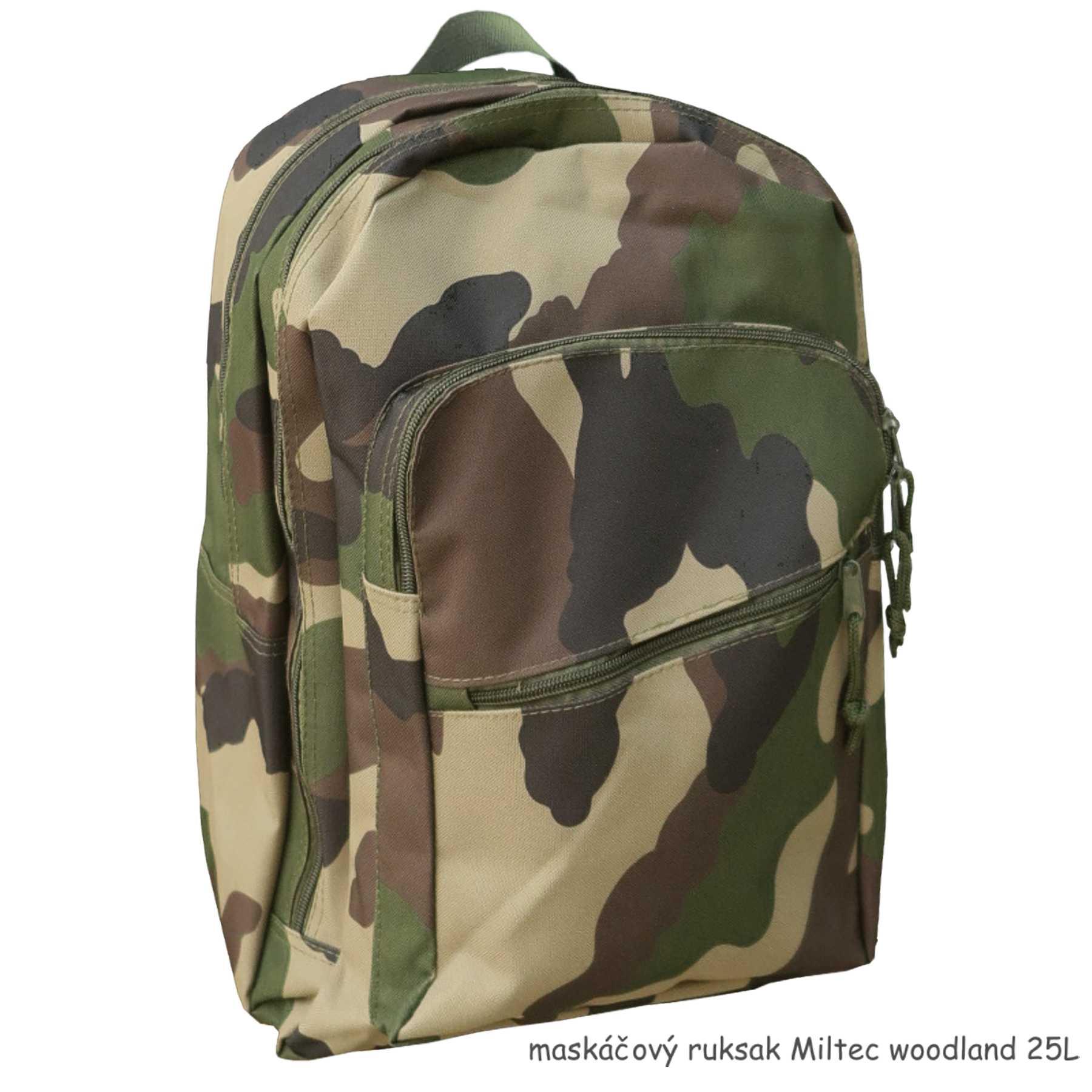 ... zipsovým zapínaním maskáčový ruksak 4d84ba81730
