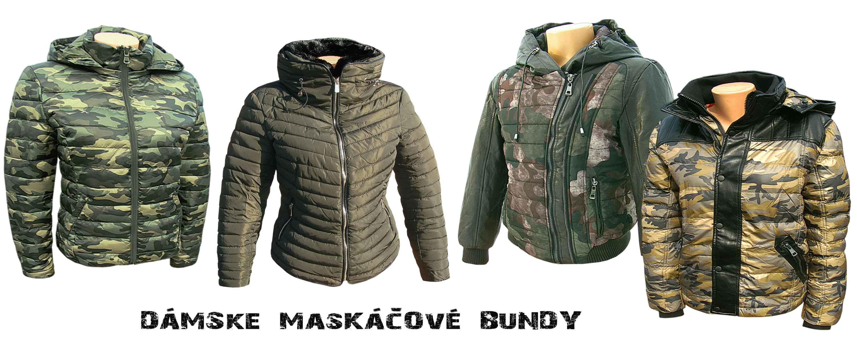 Dámske maskáčové bundy - maskáče pre ženy 76b552f24d8