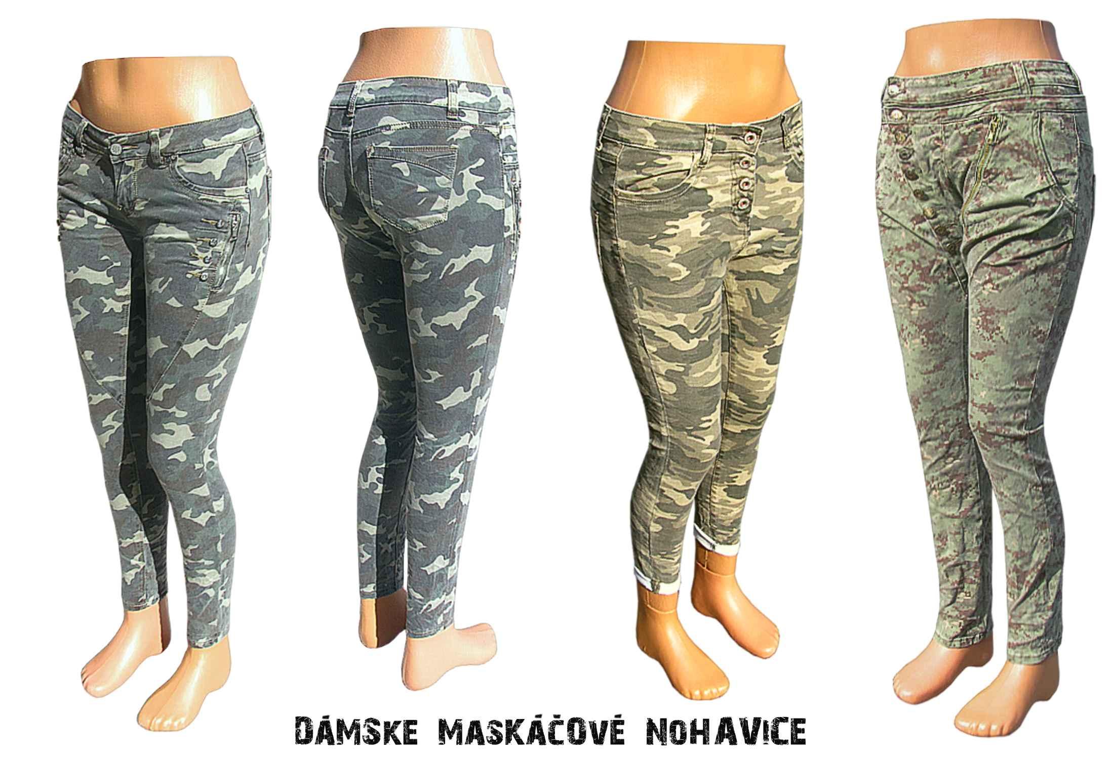 bf3705495 Dámske maskáčové nohavice | army shop nitra tifantex