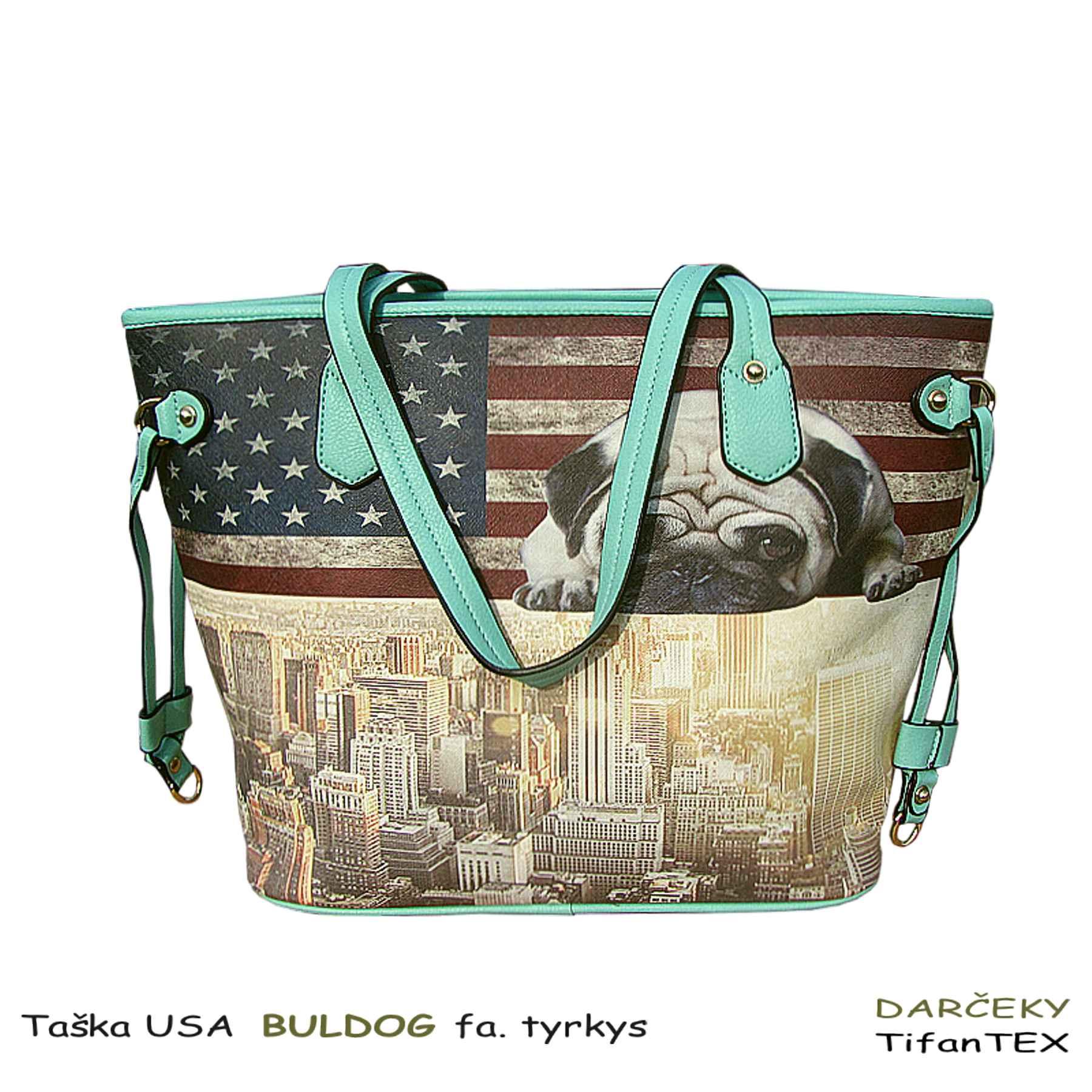 ... Dámska taška USA Buldog - tašky Tifantex fb8c0fe0e0a