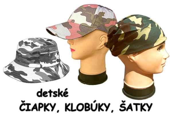 039e72fcb ... Detské čiapky a klobúky - maskáče pre deti ...