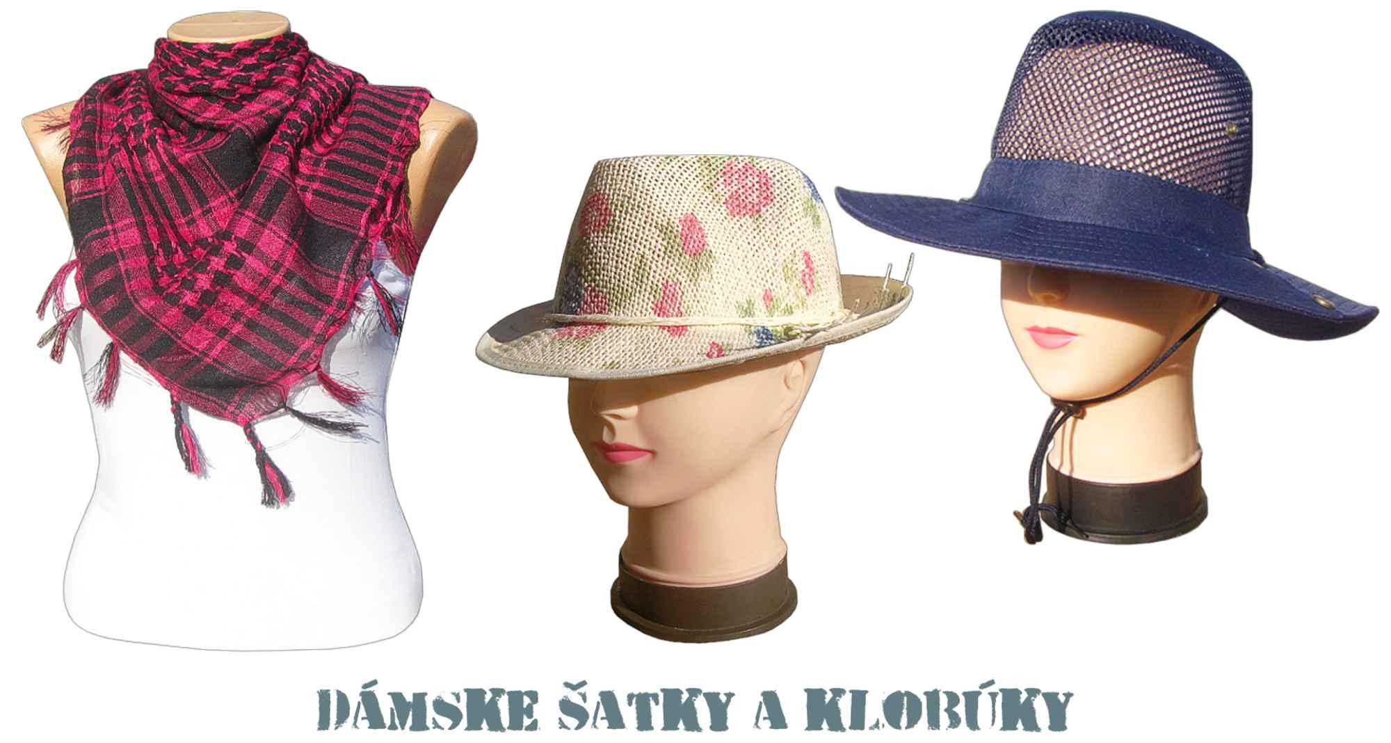 55580ccda Dámske klobúky a šatky   eshop a velkoobchod TifanTEX