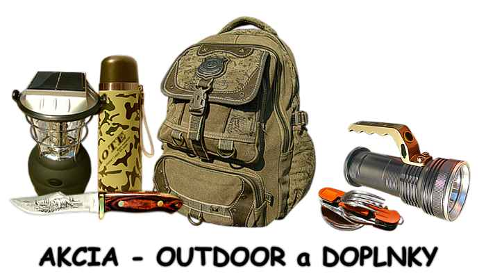 Akcia OUTDOOR doplnky