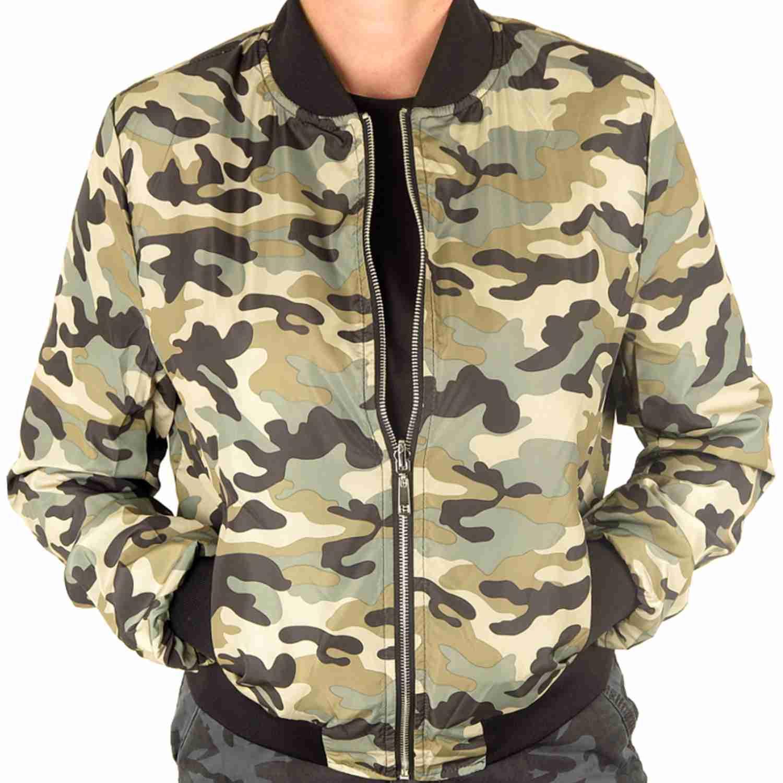 97388454e04d Skvelá dámska bombera je skrátka bunda