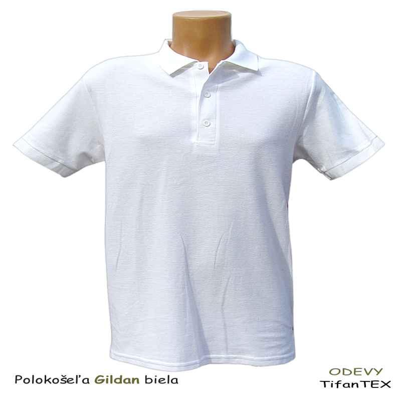 2a3881243785 Polokošeľa dámska Gildan biela - pracovné odevy Tifantex velkoobchod