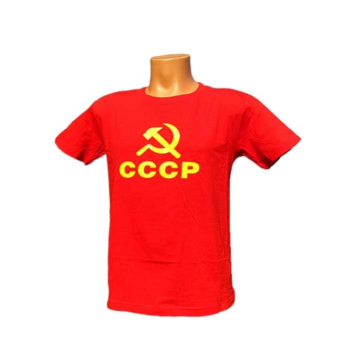 dcb8741c45c2 Tričko CCCP červené