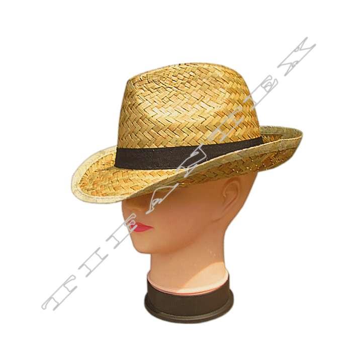 9aaa27b04 Klobúk slamený ALCAPONE, veľkoobchod klobuky a širáky TifanTEX