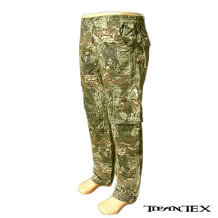 Nohavice maskáčové LOSHAN oak green  f43b8029719