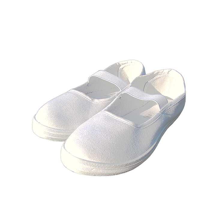 2359740656d Cvičky detské biele