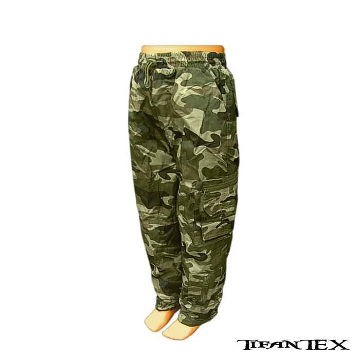 Nohavice detské SUCCESS zateplené woodland - Armyshop TifanTex 5be8e033594