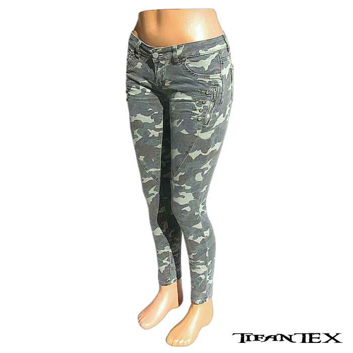 dec85a9b4eb6 Nohavice dámske maskáčové Sexy Denim - TifanTEX armyshop