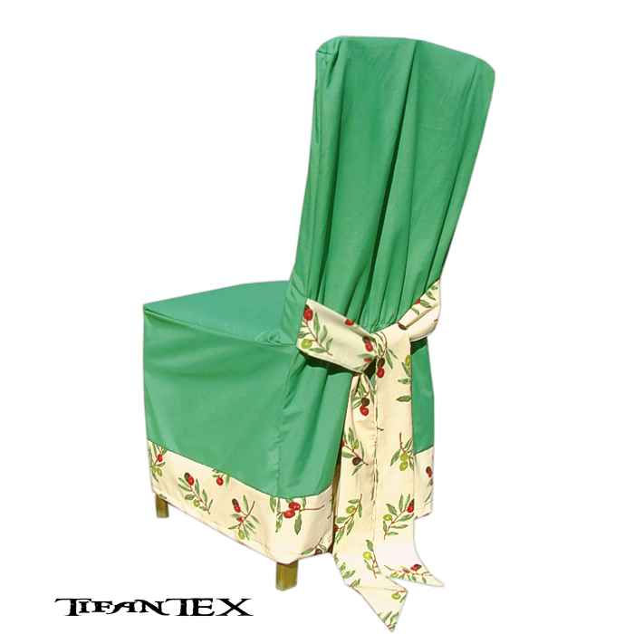 bc327507a216 Návlek na stoličku zelený oliva