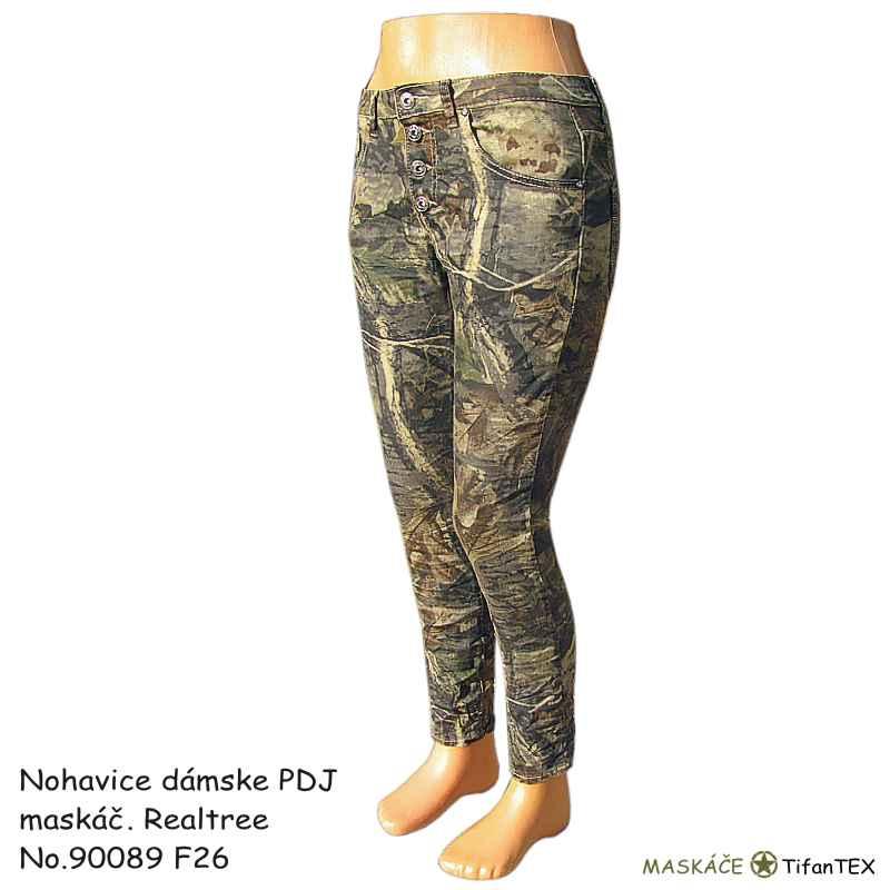 Nohavice dámske PDJ maskáčové Realtree 16be7765789