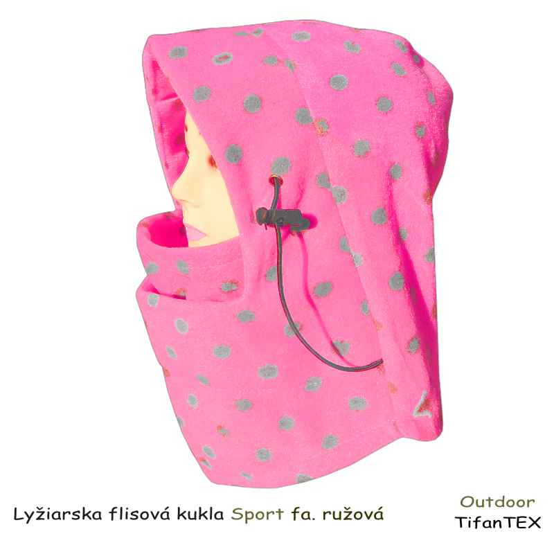 0b9cffb0a Lyžiarska flisová kukla Sport   TifanTEX oblečenie