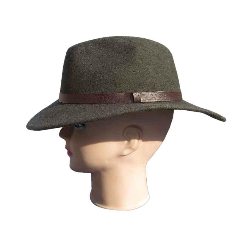 a688d262b Poľovnícky klobúk s hnedým lemom | TifanTEX eshop a veľkoobchod