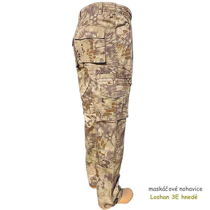 maskáčové nohavice Loshan 3E kryptek highlander  9ed3a9298db