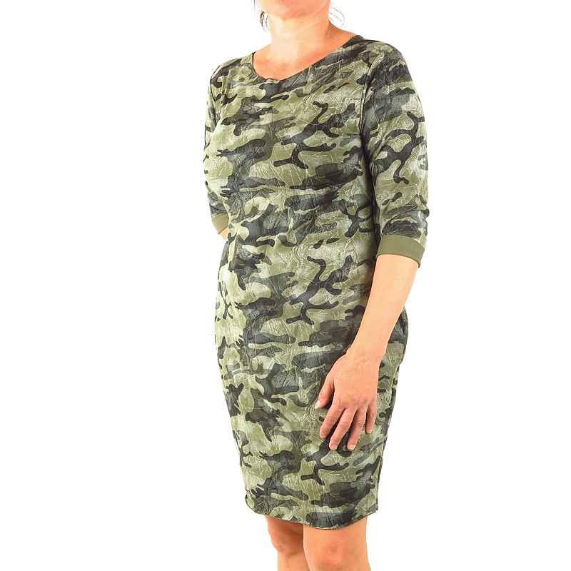 82f191582200 dámske maskáčové šaty woodland