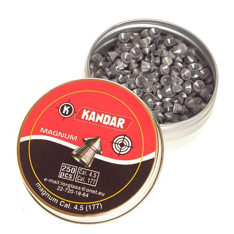 Diabolky do vzduchovky Kandar 4,5mm 250ks