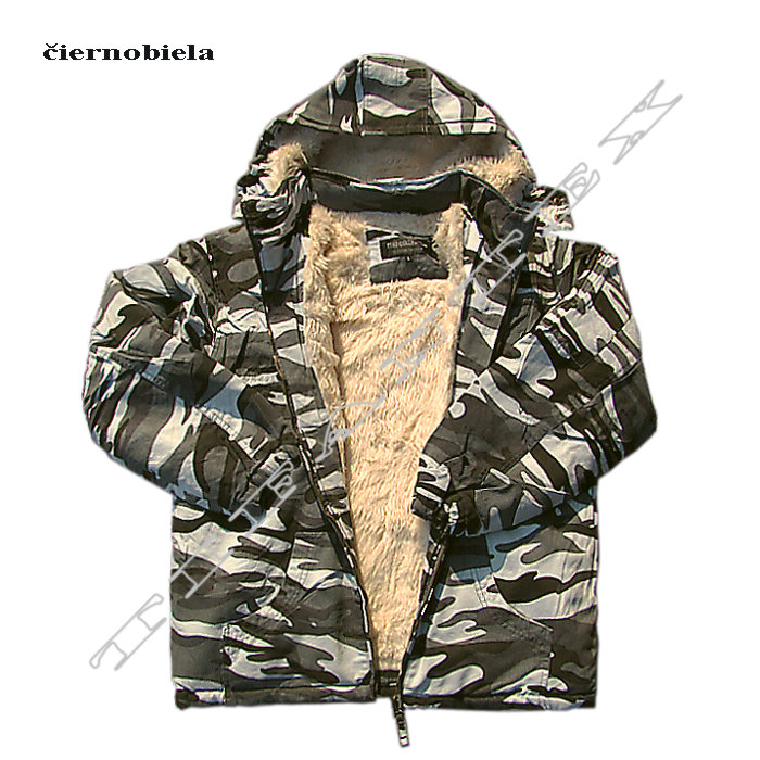 Maskáčová bunda TT-D zateplená - TifanTex s.r.o 427cd2ee1ca