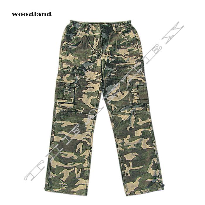 Maskáčové nohavice LOSHAN woodland 5d3068cc42c