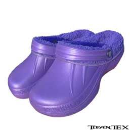 Šľapky KROXY KLASIK dámske zateplené fialové empty da5bb254fa