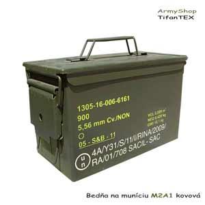 Bedňa na muníciu M2A1 kovová  68386e97e6e