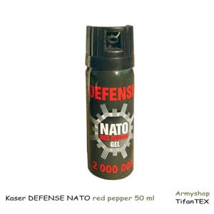 Kaser DEFENSE NATO red pepper 50 ml
