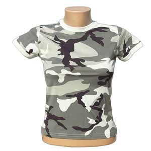 210d5c44dc dámske maskáčové tričko US MFH urban empty