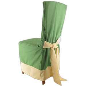 60c2de6acc67 Návlek na stoličku zelený s lemom empty