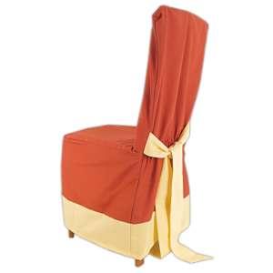 85df460f1355 Návlek na stoličku oker s lemom béžový empty