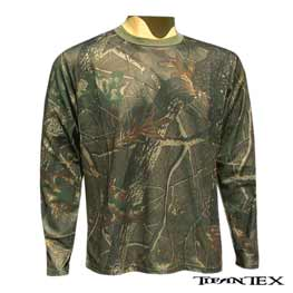 3d5a562e0bd4 Tričko maskáč. dlhý rukáv LOSHAN Oak green empty
