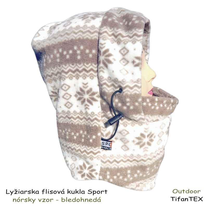 1e7a487a8 Lyžiarska flisová kukla Sport nórsky vzor   TifanTEX oblečenie