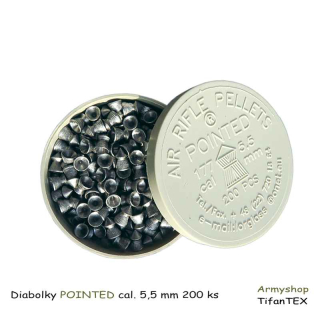 Diabolky POINTED cal. 5,5 mm